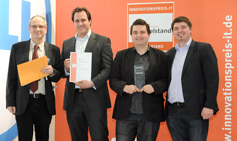 CeBIT: mCommerce Anbieter Shopgate gewinnt Innovationspreis IT 